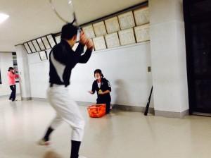 学校練習雨天時のメニュー
